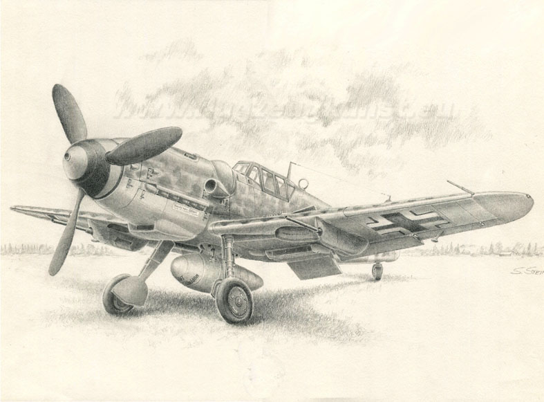 Pencil drawing ho 229 pencil drawing messerschmitt bf109g 6